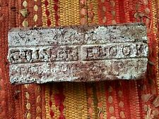 INDY 500 BRICK INDIANAPOLIS 500 RACE ORIGINAL COMPANY CULVER BLOCK 1901