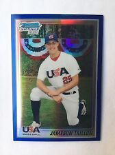 2010 Bowman Chrome USA Baseball Jameson Taillon Blue Refractor(#57/250)