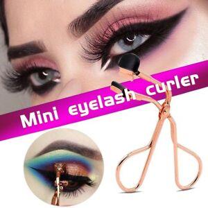 Mini Eyelash Curler Eye Lashes Applicator Eyelashes Silicone Refill Pads Make Up