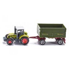 Tracteur Claas Ares 697 ATZ avec remorque 2 essieux - Siku 1634