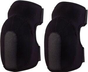Black Neoprene Slip-On Tactical Knee Pads Sports Protective Equipment