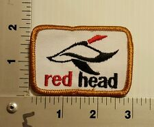 1980's REDHEAD RED HEAD  VINTAGE EMBROIDERED PATCH