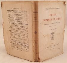FERDINAND OSSENDOWSKI BETES HOMMES ET DIEUX LEWIS STANTON PALEN 1924 POLONIA