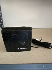 MOTOROLA EXTERNAL SPEAKER  HSN4031A WITH BRACKET & WING NUTS .....NICE