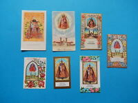 LOT  7 IMAGES PIEUSES HOLY CARD andenken SOUVENIR EINSIEDELN NOTRE DAME