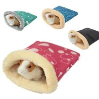 Mini Pets Sleeping Bag Soft Warm Bed Home Pouch For Guinea Pig Hedgehog Hamster