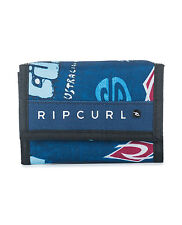 RIP CURL MENS WALLET.SURF LOGOMIX TRIFOLD MONEY CARD COIN NOTE PURSE 7W PW4 70