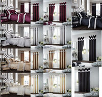 Oxy Diamante Luxurious Duvet Cover Sets / Curtains / Cushion Covers /Door Panels
