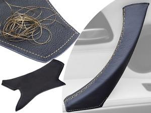 Left Interior Door Handle Trim Cover For BMW 3 Series 04-12 E90 E91 Black Gold