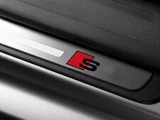 6 x Audi S-line Aufkleber für Einstiegsleisten A3 A4 A6 RS TT Q7 Emblem Logo S