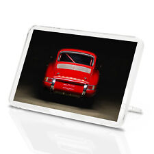 Red Vintage Classic Fridge Magnet - Porsche 911 Sports Super Cool Gift #12564