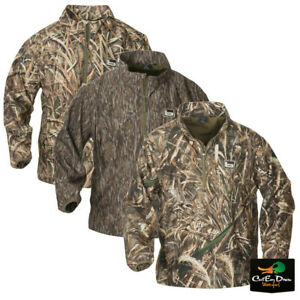 NEW BANDED GEAR WINDPROOF 1/4 QUARTER ZIP CAMO PULLOVER - B1010013 -