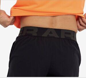 Under Armour Vanish Woven Mens Training Shorts - Black-Small-medium-large & XL