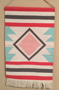 Wall Hanging  29 Long 18 Wide Cotton Weave