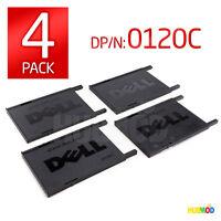 4 Genuine DELL 0120C PCMCIA Slot Card Blanks Cover for Latitude Inspiron Laptop