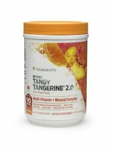 Youngevity Beyond Tangy Tangerine 2.0 Citrus Peach Fusion BTT canister