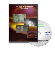 Atomic Bomb Civil Defense Nuclear Propoganda Films DVD - A61