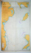 More details for admiralty nautical chart maritime map #1411 irish sea western side 1979 edition