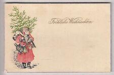 CPA  FANTAISIE ART - PERE NOEL CHRISTMAS SAINT NICOLAS FROHLICHE WEIHNACHTEN~B35
