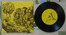 "Putrid Fever 7"" w PS Italian Hardcore Belfagor 1985 w Lyric Sheet VG++/M-"