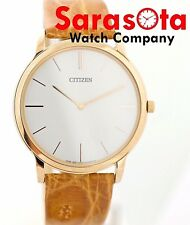 Citizen Eco-Drive G820-S069220 Rose Gold Steel Flat 5mm 39mm Case Wrist Watch