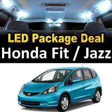 6 White LED Lights Interior Package Deal For 2009 - 2013 2014 Honda Fit & Jazz