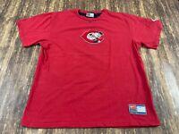 Cincinnati Reds Men's Red/Black MLB Baseball T-Shirt - Nike - Large