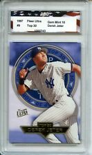 1997 Fleer Ultra Top 30 #9 Derek Jeter AGC 10 Gem Mint New York Yankees