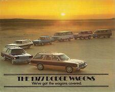 Dodge Aspen Monaco Royal Sportsman Ramcharger Wagon 1977 USA Market Brochure