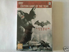 BATMAN ARKHAM CITY EDITION GAME YEAR COMPLET MAC DVD-ROM FR NEUF SOUS BLISTER