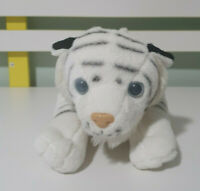 WHITE TIGER PLUSH TOY SOFT TOY HAPPY LUCKY PIGGY 32CM LONG