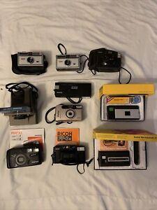 Lot of 10 Vtg Cameras