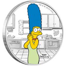 Tuvalu - 1 Dollar 2019 - Marge Simpson™ - Die Simpsons™ (3.) - 1 Oz Silber PP