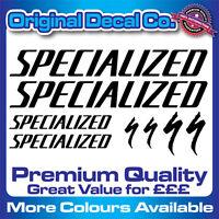 Premium Quality Specialized Bike Decals Stickers mountain bike road frame mtb