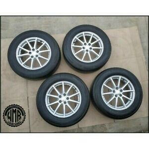 Set Used 4 Wheels Si 7 17 5X108 ET45+ Tyre Summer 225/64 17 For R.R. Evoque