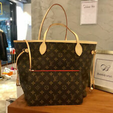 LOUIS VUITTON Neverfull MM Monogram Tote Hand Bag Authentic
