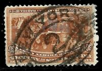 "Sc #239 ""New York"" Town Cancel SON 30 Cent Columbian 1893 US Stamps 2390"