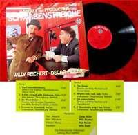 LP Willy Reichert & Oscar Heiler: Schwabenstreiche (Telefunken) D