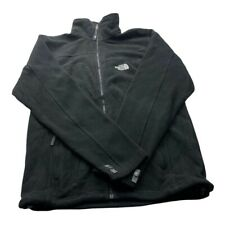 """The North Face Mens Fleece TNF Black Size Small Winter Outdoor Vintage P2P 21"""""""