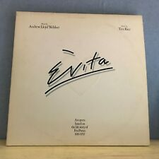 ANDREW LLOYD WEBBER TIM RICE Evita 1976 UK DOUBLE VINYL LP EXCELLENT CONDITION a