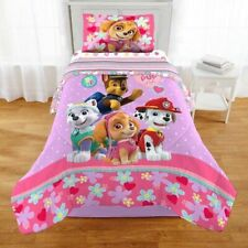 Paw Patrol Girl Best Pup Pals Bed in Bag BeddingTwin Size Set New!