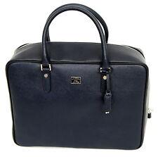 Paul & Shark YACHTING Tasche Travel Bag Leder Leather Reisetasche Navy Blue NEU
