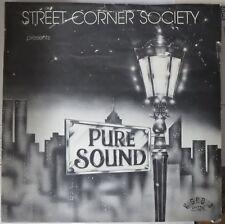 "STREET CORNER SOCIETY presents PURE SOUND SIGNED VINYL 12""! NORTHERN SOUL"