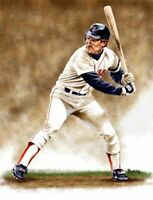 Wade Boggs Boston Red Sox 11 X 14 Giclee by James Byrne Series 1