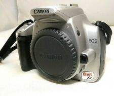 Canon EOS Digital Rebel XT / EOS 350D 8MP SLR Camera - Silver (Body Only) Works