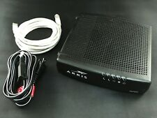 Arris TM1602A Cable Modem Docsis 3.0 16x4 Telephony Modem With Power Cord