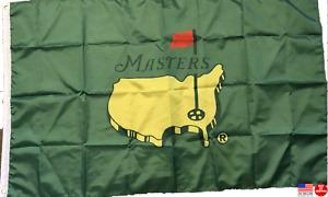 The Masters Green 3x5 Flag Man Cave Flag Banner Augusta Golf Club 3 x 5 New