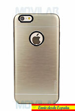 Funda carcasa antigolpes Apple Iphone 6 Plus / 6S Plus aluminio / TPU dorada