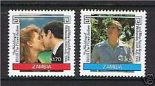 Royalty Zambian Stamps (1964-Now)