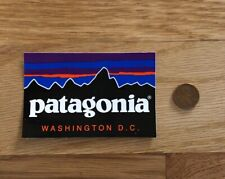 Patagonia Washington D.C. Logo Sticker Decal Hike Fish Camp Car Yeti Fitz Roy